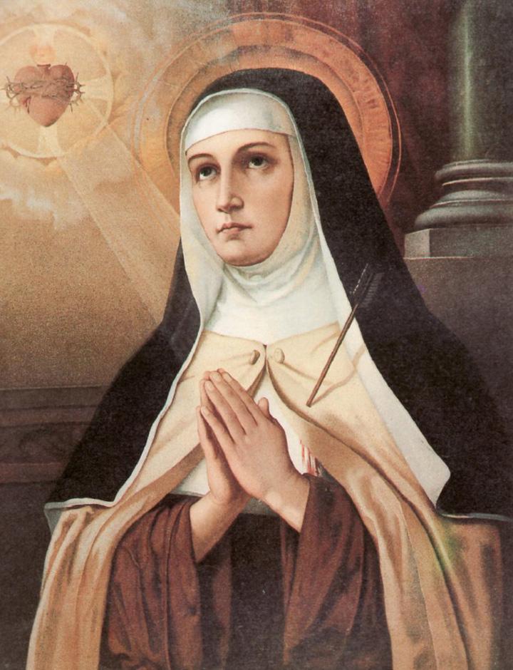 Svätá Terézia z Ávily