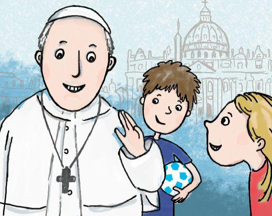 Náš pápež František – knižná novinka pre deti z dielne Vydavateľstva DON BOSCO